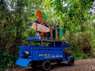 Отчёт о сёрф-кемпе на G-Land, октябрь 2017
