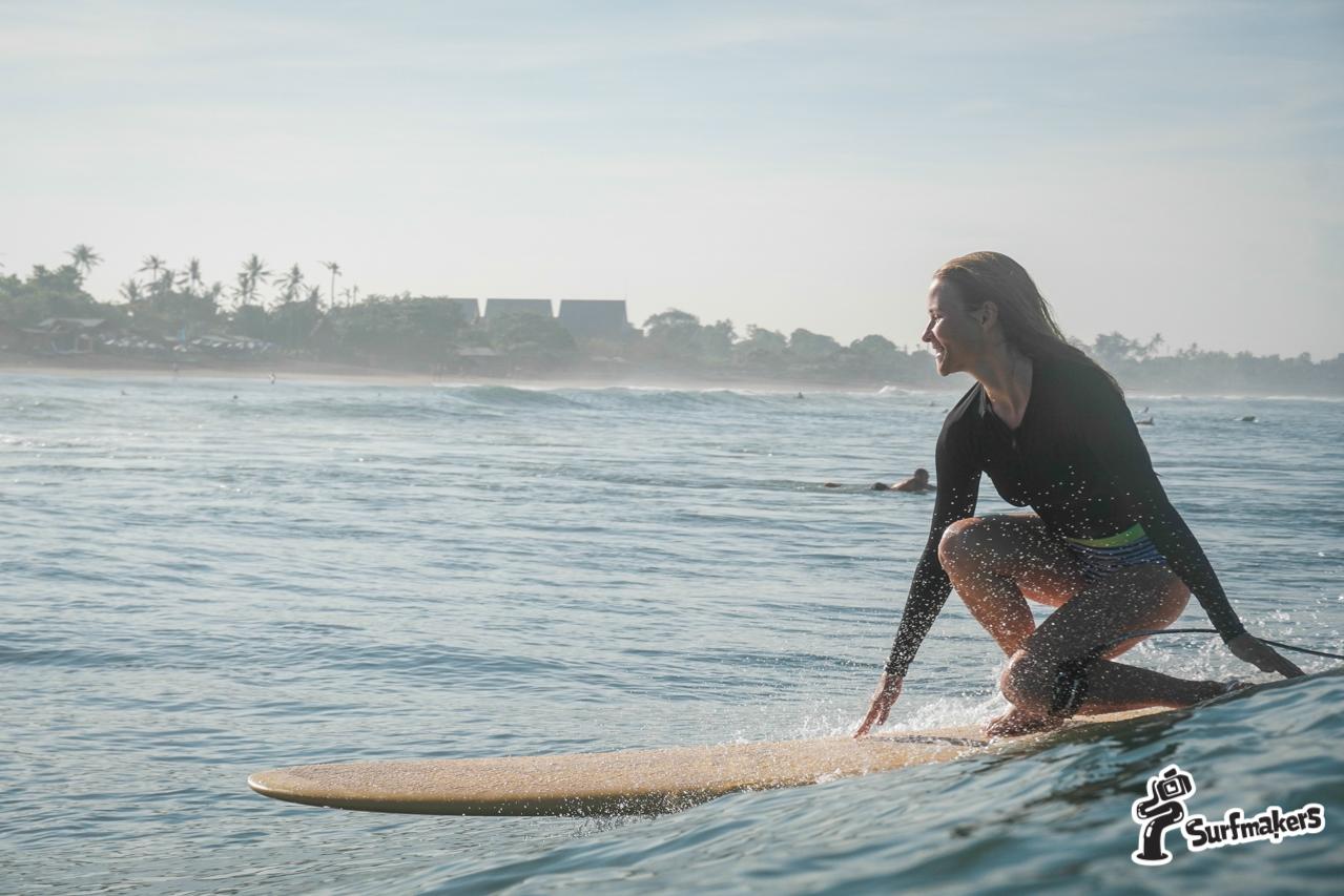 Сёрфер в океане
