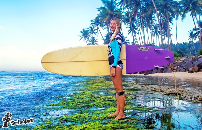 серфинг на Шри-Ланке