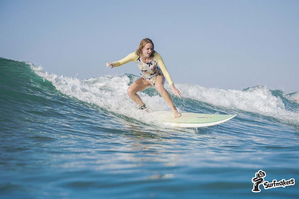 В обучении сёрфингу нужно терпение