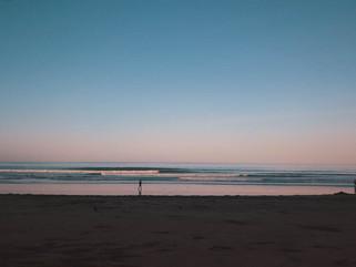 Дружелюбные волны на Бали.