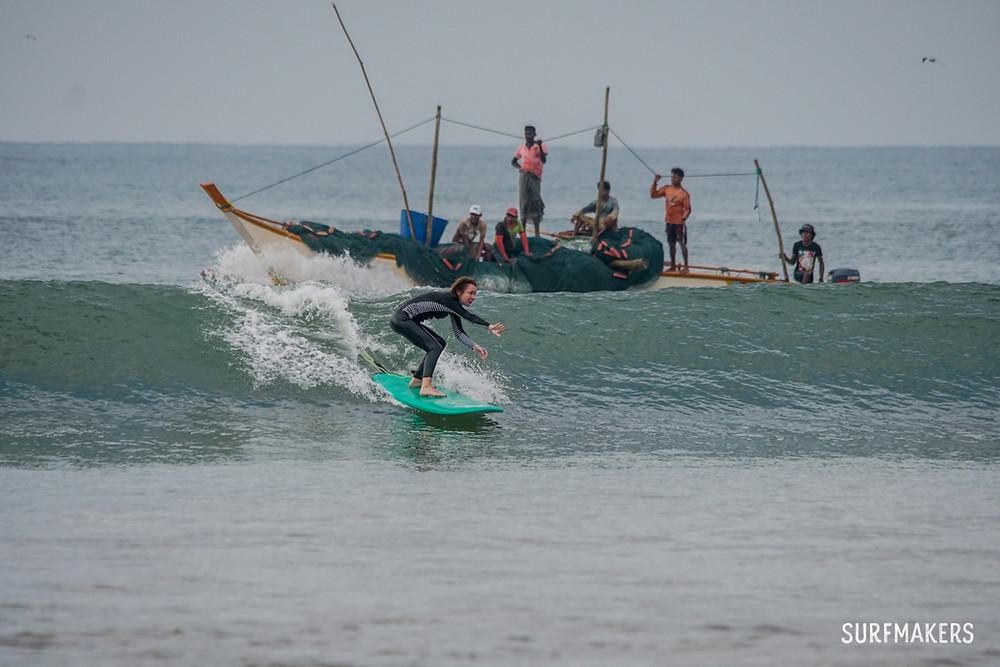 Обучение сёрфингу с инструктором