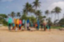 школа серфинга на шри ланке
