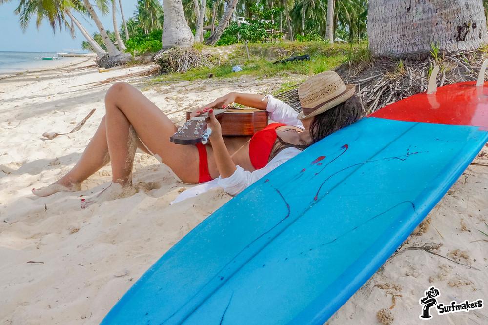 В свободное от серфинга время - отдыхать