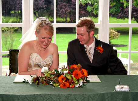 Couple return to The Old Vicarage on their wedding anniversary