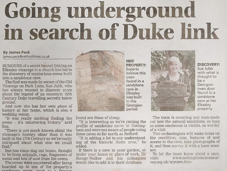 Going underground in search of Duke link