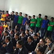 Lecture in Seventh Day Adventist English medium school