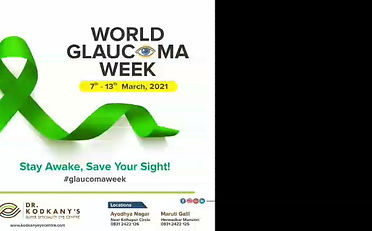 Dr. Shilpa Kodkany, Chief Consultant and Medical Director of Dr Kodkany's Superspecility Eye centre explains about What is Glaucoma, causes  and how to fight against Glaucoma in detail on this World Glaucoma Week