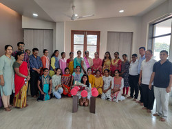 Shweta's Farewell conducted on 20th March 2021