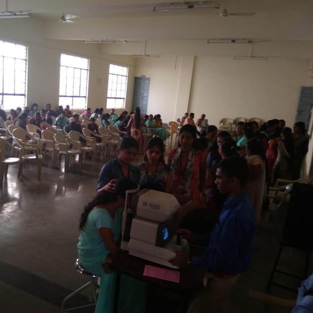 Camp at Jain Mahila Mandal B.Ed College