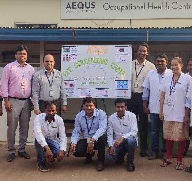 Aequs-Global Manufacturing Company Camp