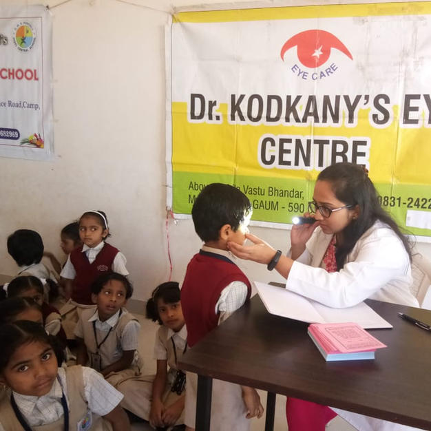 Camp at Jyoti Central School for kids