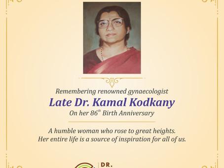 Dr (Mrs) Kamal Kodkany Memorial Eye Camp- Surgeries