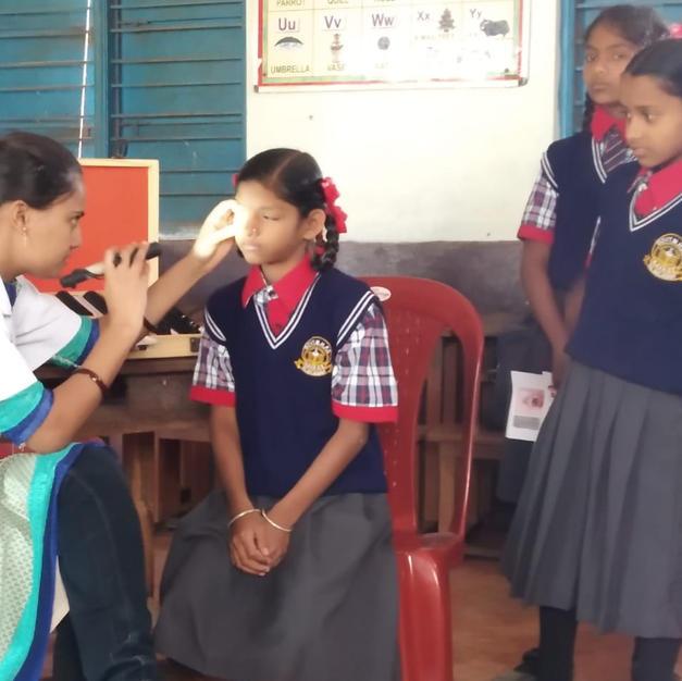 Camp at MHPS Government Marathi school Navage