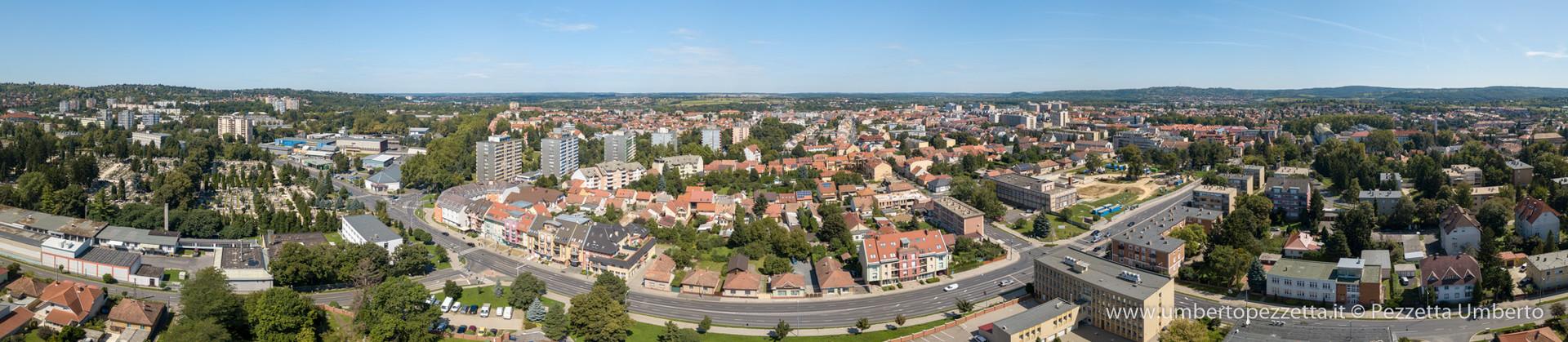 Zalaegerszeg from South
