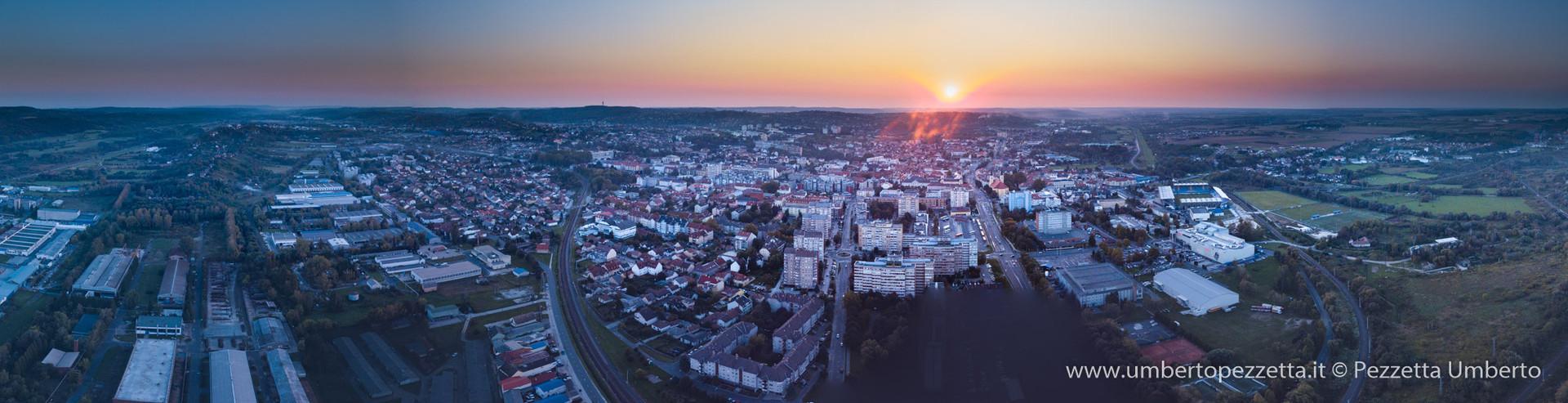 Zalaegerszeg from East