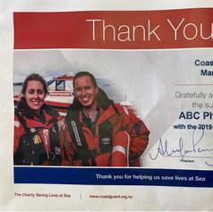 Coast Guard Sponsorship 2019