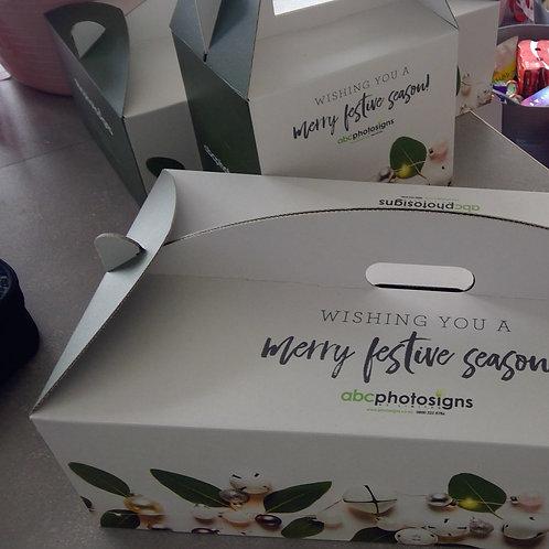 Custom Designed Wine & Cake Boxes
