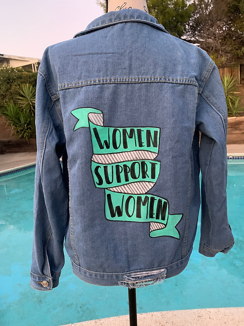 Custom Painted Jean Jackets