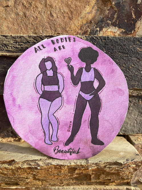 All Bodies are Beautiful-Purple