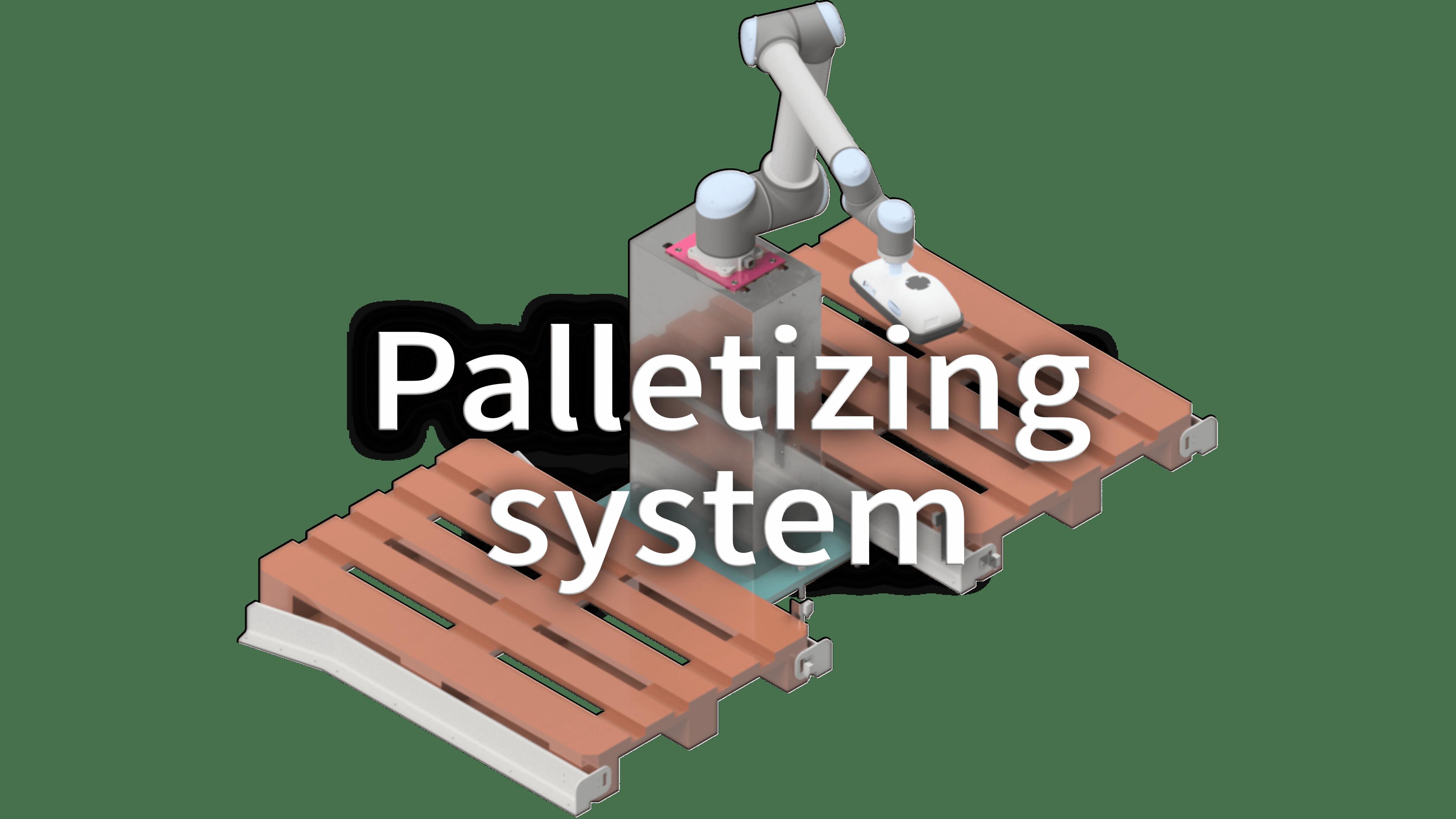 Palletizing system-Smac-SRL
