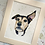 Thumbnail: Head Only 6x8 Pet Portrait with 8x10 Mount
