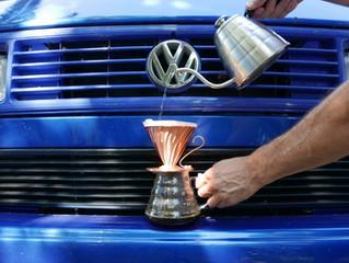 25.8.: Wir sind zurück! Stickstoff-Shakes, Erdbeer-Tonic-Shots, Kaffees frisch von der Farm in Brasi