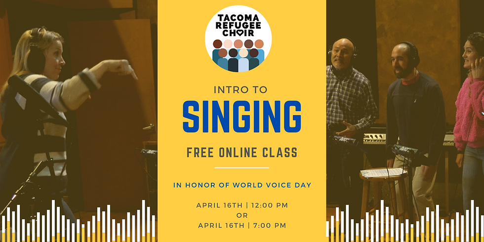 Free Online Class - 12PM | Intro to Singing