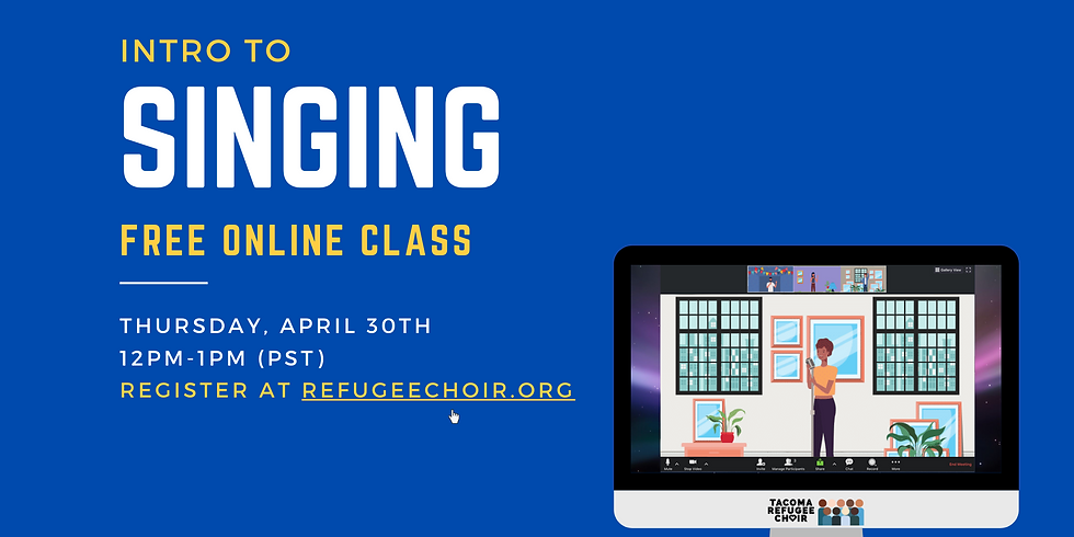 Free Online Class | Intro to Singing