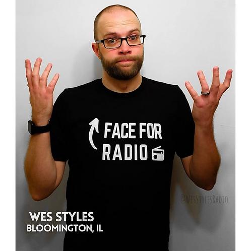 Face for Radio Unisex Tee