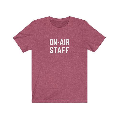 On Air Staff Unisex Tee