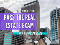 Some Real Estate Exam Tips
