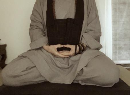 Significance of Posture in Zen Meditation