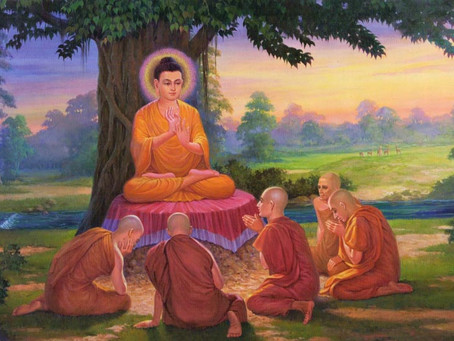 Perception of Suffering in Buddhism - The Four Noble Truths