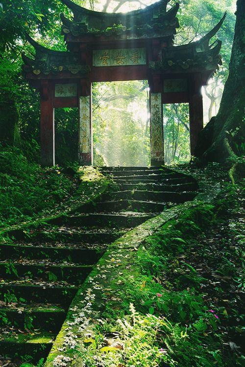 japan monastic gate
