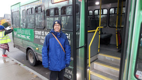 Commute by bus
