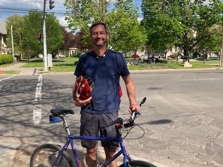 Mayor participates in Bike To Work Week