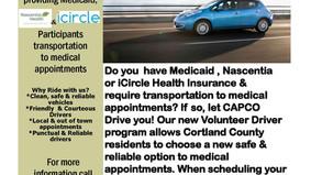 CAPCO's Volunteer Driver program is back!