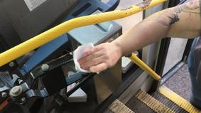 Cortland Transit ups cleaning