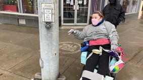 Sidewalk challenges highlighted