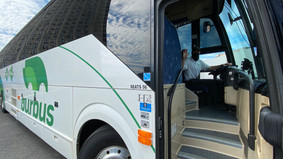 OurBus expands travel locally