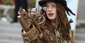 Catch a shuttle to Steampunk