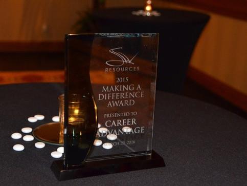 Career Advantage Recieves Award
