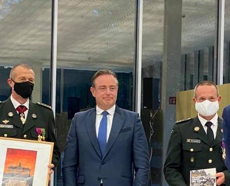 Mars & Mercurius - Bevelsoverdracht van het Militair Commando Provincie Antwerpen