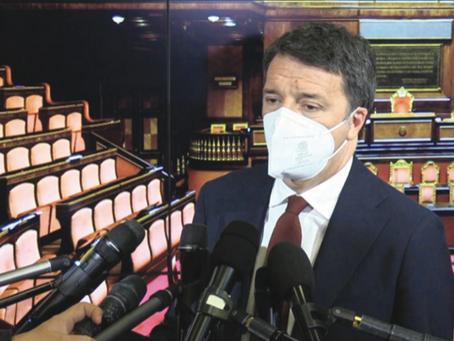 """Renzi """"stressa"""" Conte"""