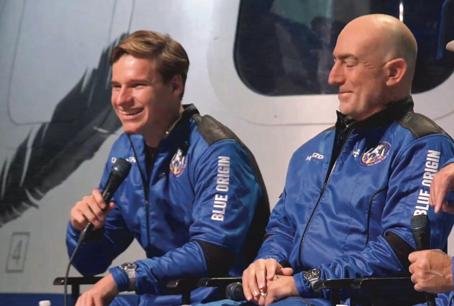 Anche Bezos va nello spazio