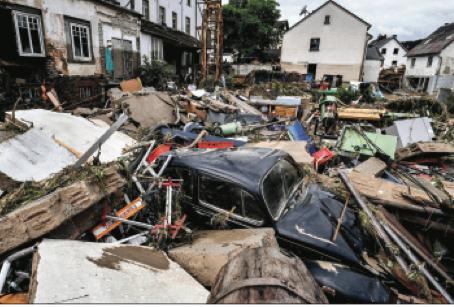 Una catastrofica alluvione