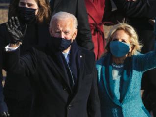 """Biden: """"Uniamo l'America"""""""