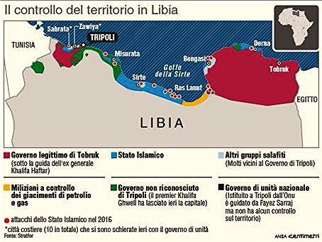 Le Libie di Tripoli e Tobruk