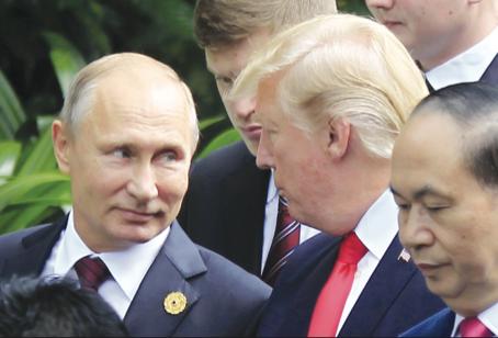 Le sfide dello zar Vladimir